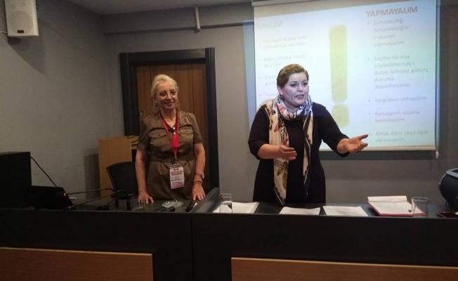 CHP'li kadınlar parti eğitiminde