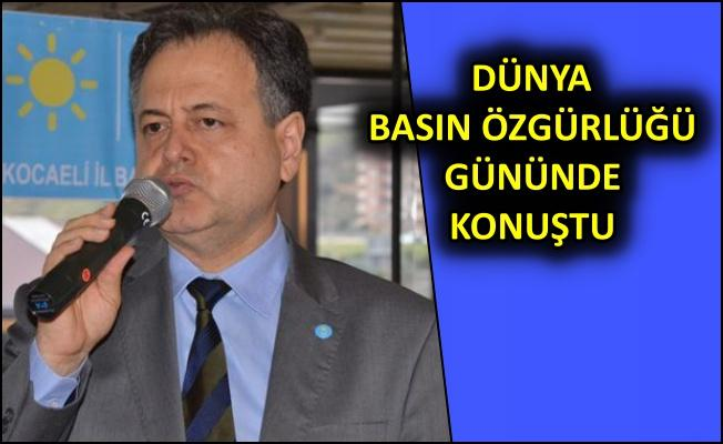 Başkan Dr. Serdar Kaman: Ülkemizde tutuklu 223 gazeteci var!