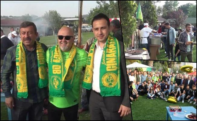 Birol Güven'den, Darıca Genlerbirliği'ne mangal partisi