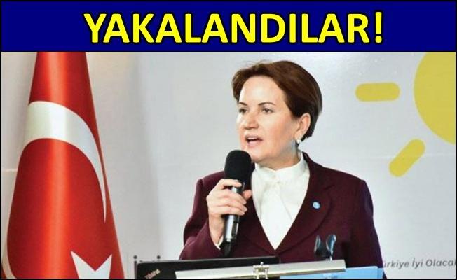 İYİ Parti Genel Başkanı Akşener'i tehdit eden 2 kişi yakalandı!