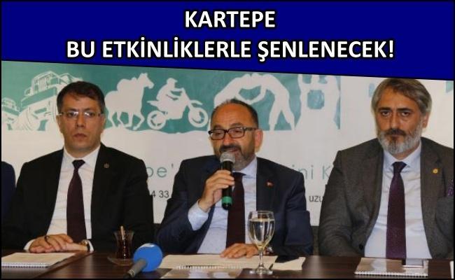 Kartepe Belediyesi spor etkinliklerini tanıttı