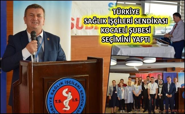 Sağlık İşçileri Sendikası Kocaeli Şube başkanlığını Ahmet Bulgurcu kazandı