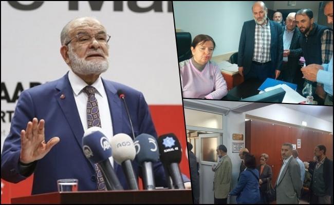 Vatandaş Karamollaoğlu'na imza için seçim kurullarına akın etti