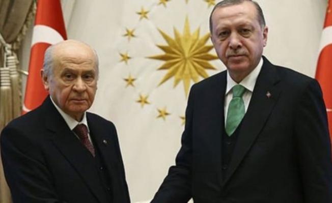 Erdoğan ve Bahçeli'den sürpriz görüşme!