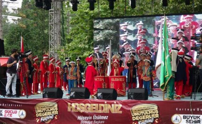 Kartepe'de Unutulmuş Değerler Festivali