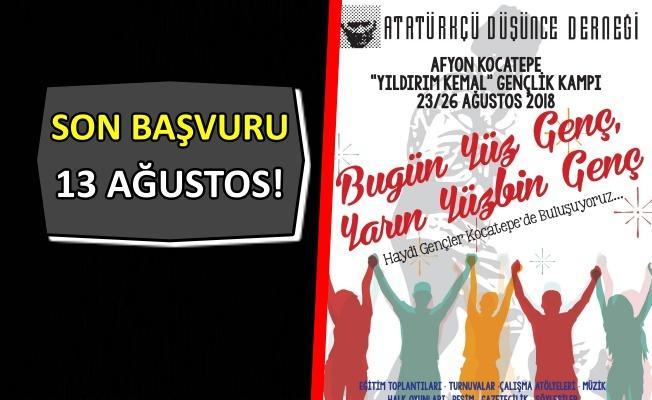 ADD Gençlik kampı başlıyor!