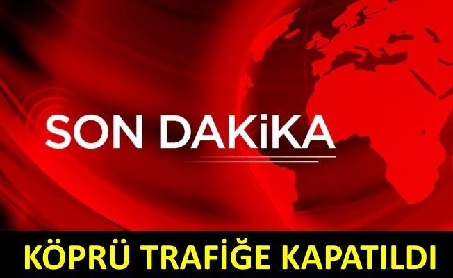 Fatih Sultan Mehmet Köprüsü'nde zincirleme trafik kazası