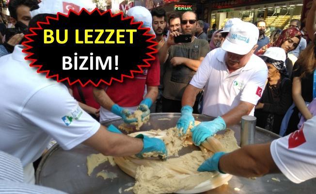 İzmit'te Pişmaniye Festivali