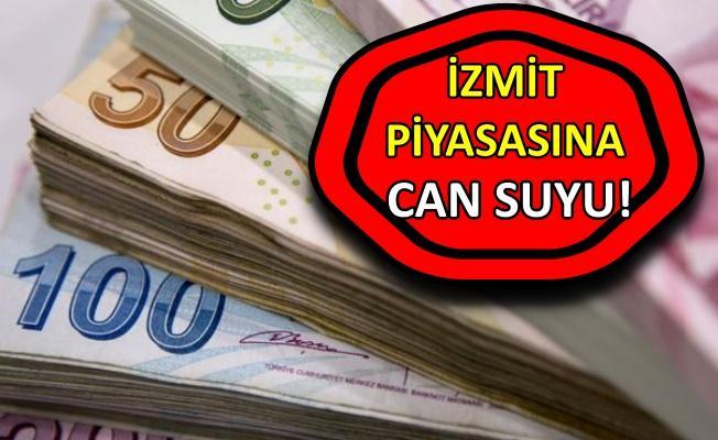 Bayram öncesi İzmit esnafına 9 milyonluk ödeme!