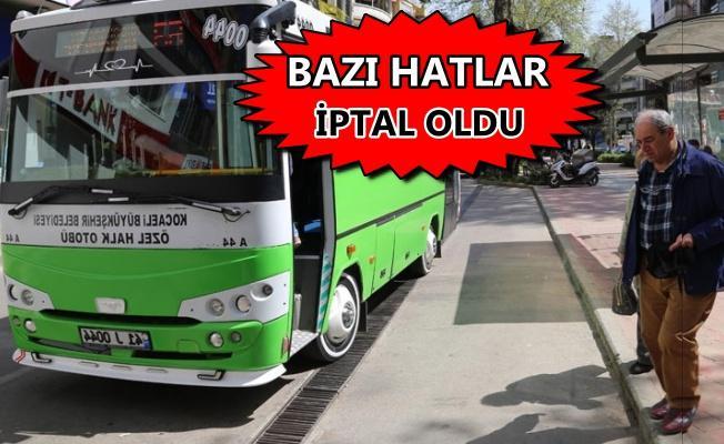 Özel halk otobüslerinde yeni ücretsiz aktarma dönemi