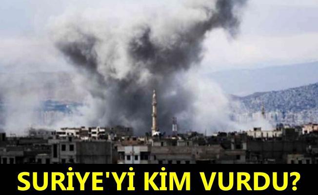 Suriye'de Şam havalimanı yakınlarında patlama sesleri
