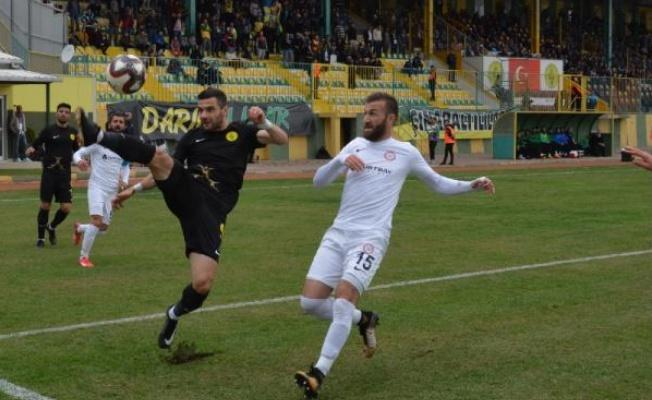 Darıca G.B-Zonguldak Kömürspor: 0-1