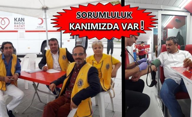 Kocaeli Nicomedia Lions Kulübü'nden kan bağışı kampanyası