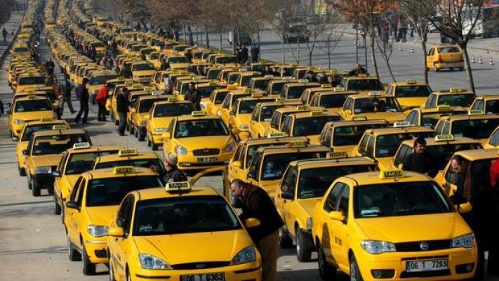 Valilere taksiciler için flaş talimat!