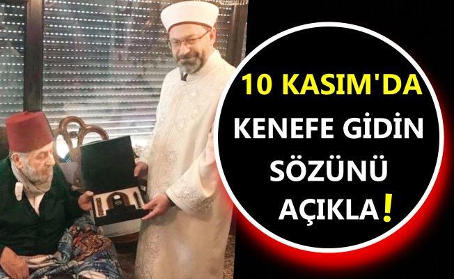 Diyanet Başkanı'nın 10 Kasım ziyaretine tepki!
