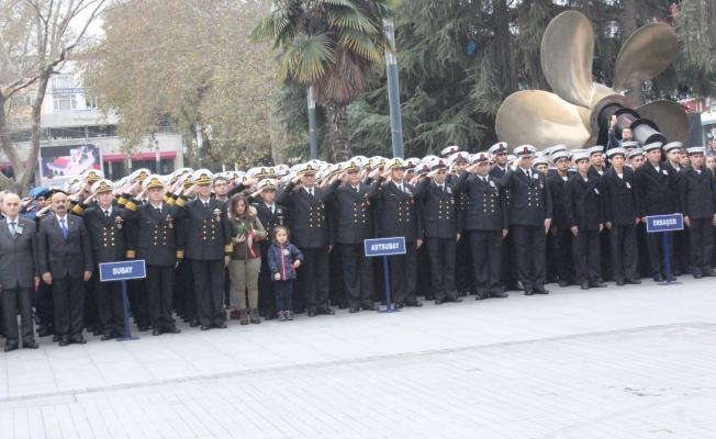 Gazi Mustafa Kemal Atatürk Gölcük'te de Törenle Anıldı