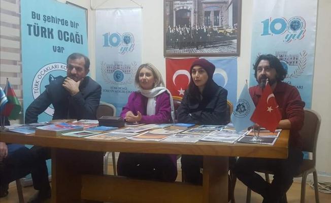 İranlı sanatçılar Türk Ocağı'na konuk oldu