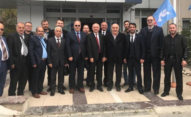Kocaeli DSP Teşkilatı Ankara'ya çıkartma yaptı!