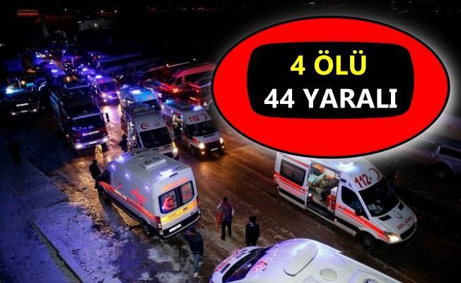 Ankara'da Yüksek Hızlı Tren kazası