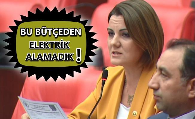 CHP'li Hürriyet'in bütçe tepkisi!