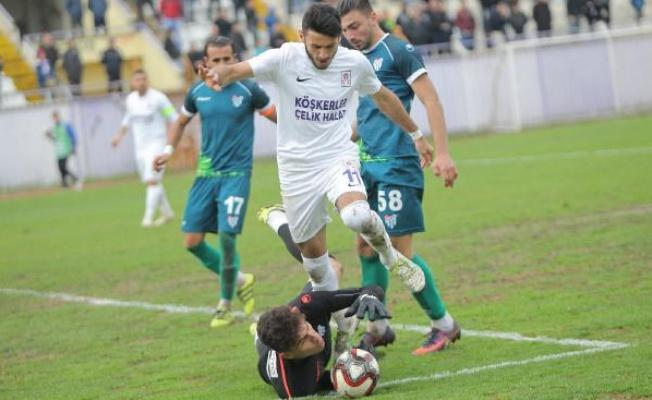 Gebzespor - Erbaaspor: 0-0