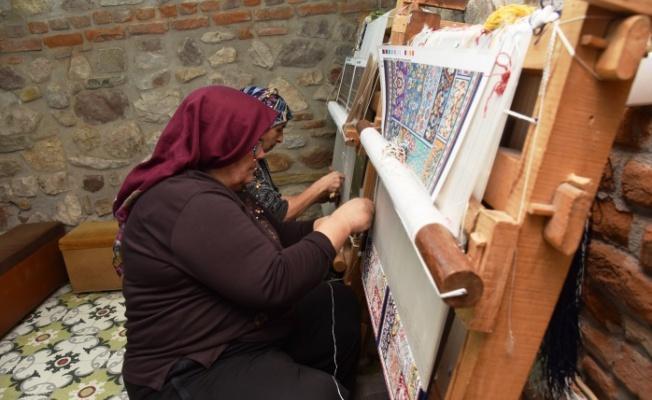 Hereke İpek Halıcılığı geleneği İzmit'te yaşatılıyor
