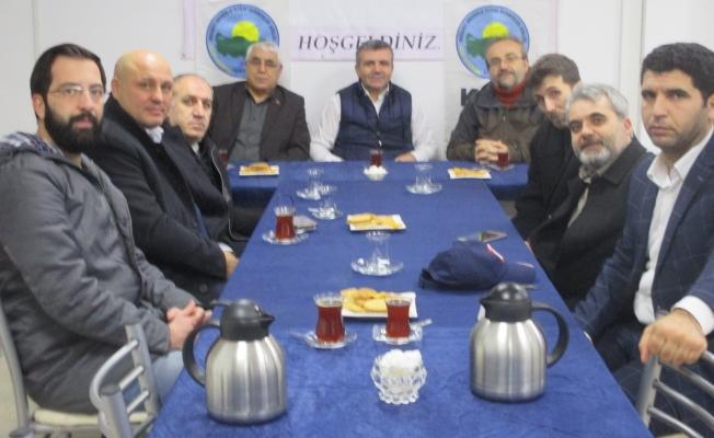 Kocaeli Artvin Batumlular, Anadolu İlleri Dernekler Birliği'ni ziyaret etti