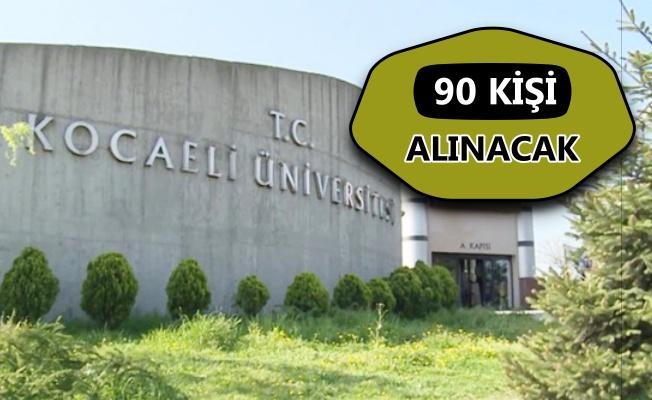 Kocaeli Üniversitesi personel alımı yapacak