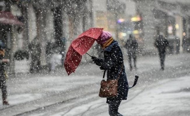 Marmara'ya kar uyarısı yapıldı!