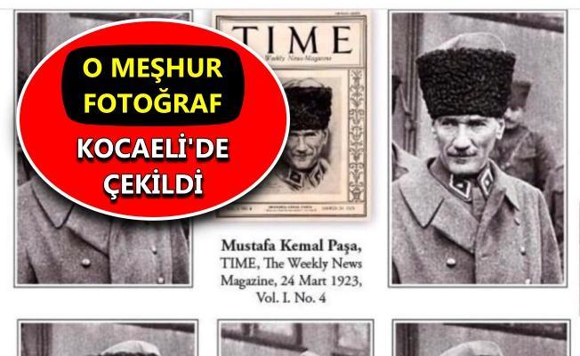"""""""Time Dergisi Kapağı"""" Kocaeli'den"""