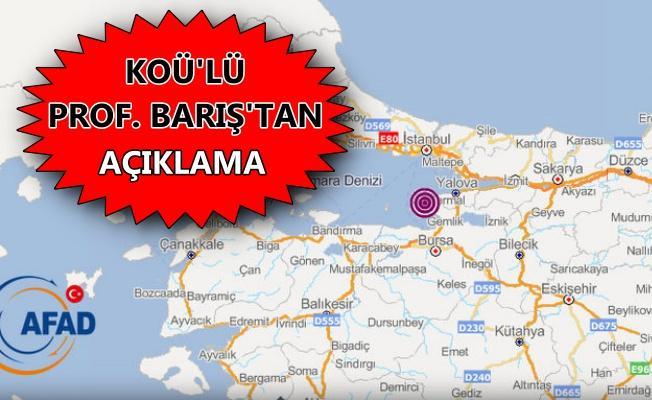 Yalova'daki deprem büyük Marmara depreminin habercisi mi?
