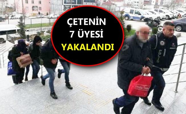 Yaşlıları sahte senetle icraya veren çeteye operasyon