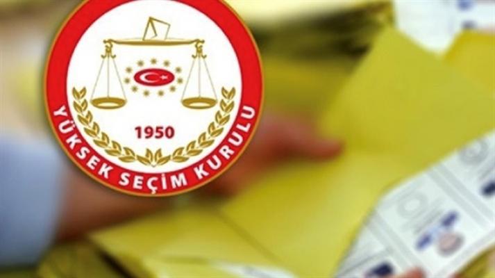 YSK yerel seçimler için takvimi açıkladı
