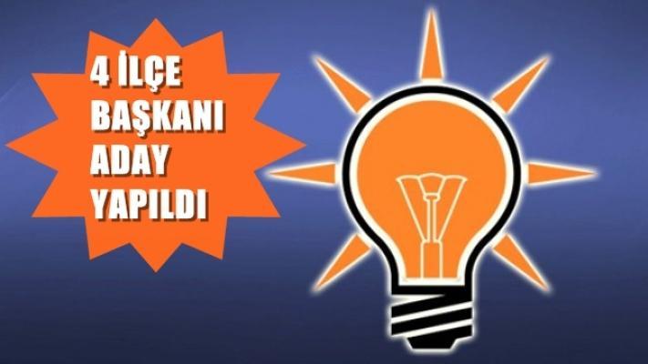 AKP Körfez, Kartepe, Çayırova, Darıca'nın adayları...