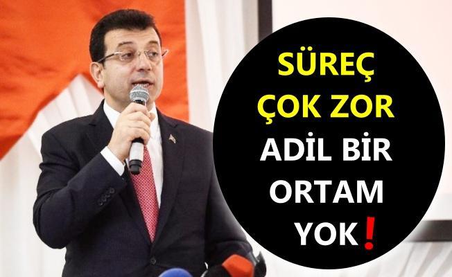 CHP'li Ekrem İmamoğlu'ndan seçim eleştirisi!