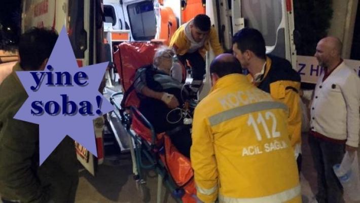 İzmit'te uykuda zehirlenen gelin-kaynana hastanelik oldu