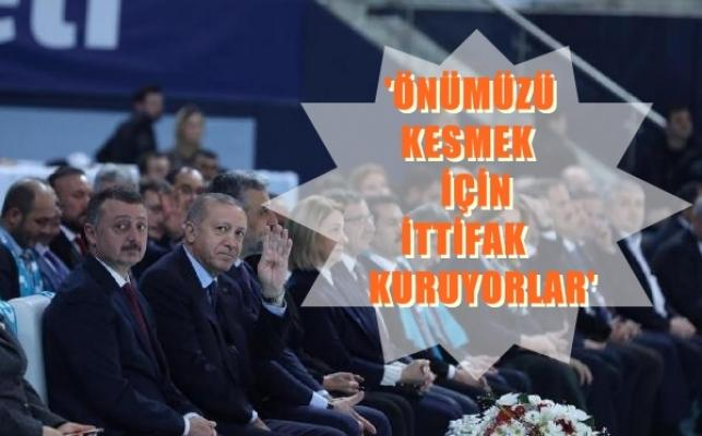 Erdoğan, Kocaeli'de partisinin aday tanıtımında konuştu