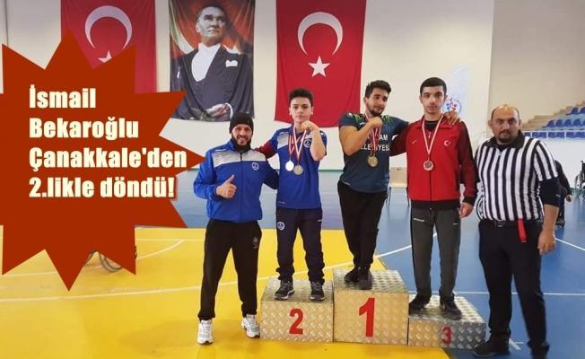 Bekar, hocası Kenan Eroğlu ile ödüle doymuyor