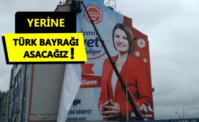 Hürriyet'in afişine İlçe Seçim Kurulu engeli!