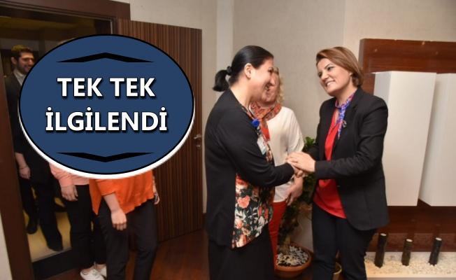 Başkan Hürriyet, Belediye personeliyle tanıştı!