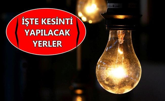 Dikkat! Kocaeli'de elektrikler kesilecek!