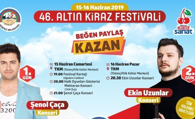 Körfez'de coşkulu festival
