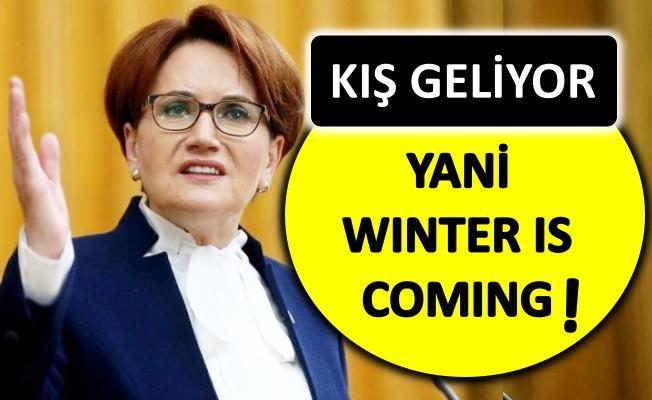 Meral Akşener'den iktidara uyarı!