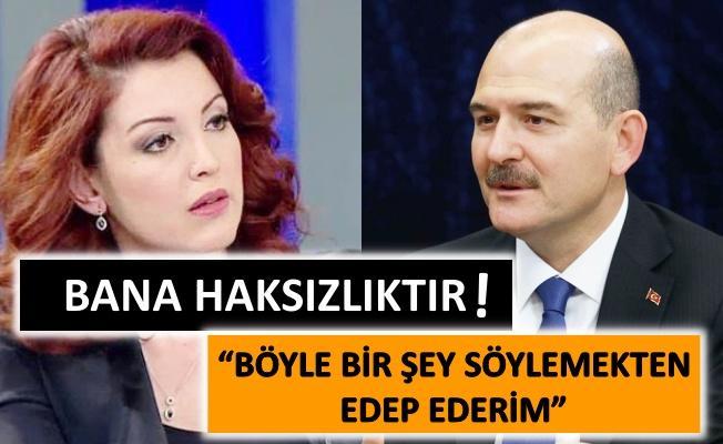 Nagehan Alçı ile Bakan Soylu tartıştı!