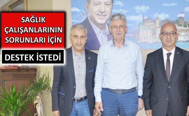 Başkan Ömer Çeker İl Başkanları ile bir araya geldi