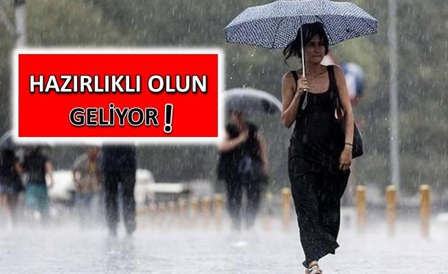 Meteoroloji'den Marmara'ya kuvvetli yağış uyarısı