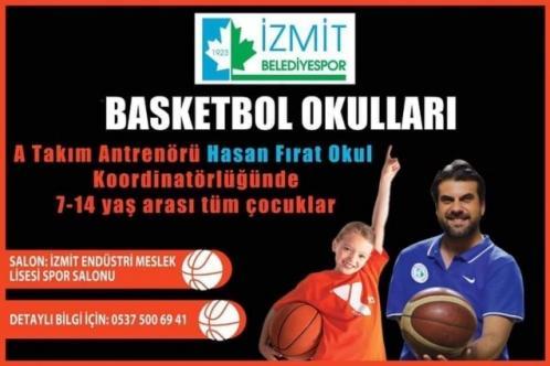 Fırat Okul'dan basketbol okulu!
