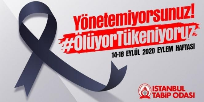 """İstanbul Tabip Odası: """"Siyah kurdele takıyoruz!"""""""