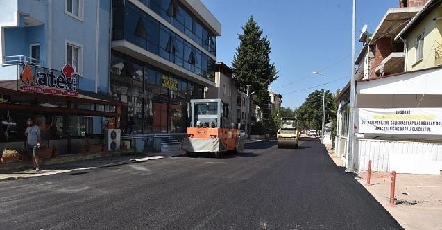 İzmit Belediyesi Paşa Caddesini yepyeni görünümüyle trafiğe açtı!