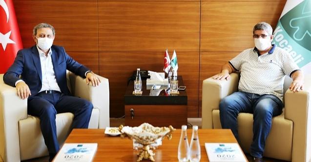 Kocaeli Milletvekili Yılmaz KOTO Başkanı Bulut'u ziyaret etti